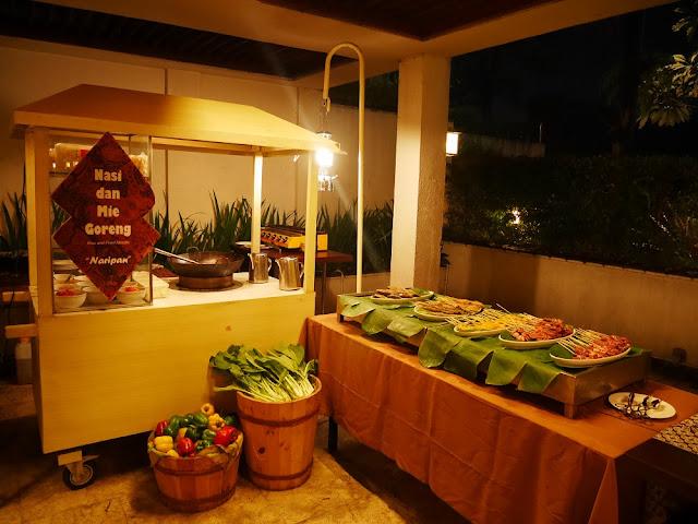 Menu menu di Restoran Hotel Aryaduta Bandung