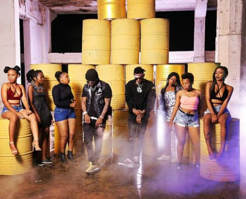 Harmonize Ft Diamond Platnumz - Kwangwaru Video