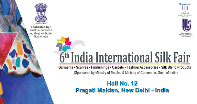 India International Silk Fair - 2018 begins in New Delhi