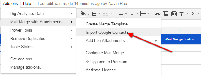 Create Mail Merge In Gmail With Google Spreadsheet To Send Mass ...