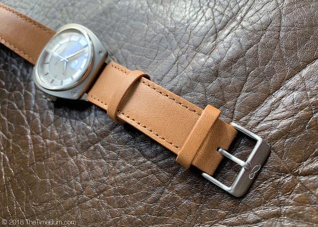 Sartory Billard SB-02 white dial matte bezel strap