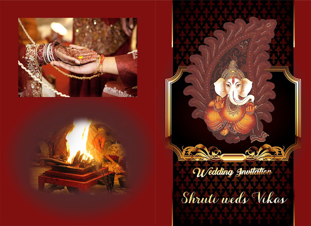 Indian wedding invitation designs-Indian wedding invitation design templates