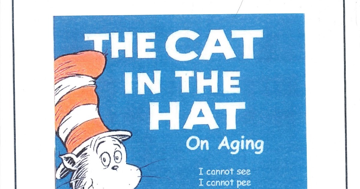 a4409328 Cat Hat Aging Poem