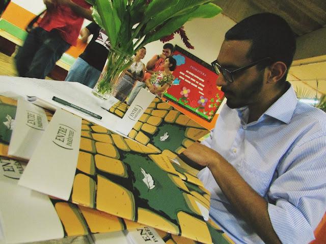 Cajobiense lança o seu primeiro livro de quadrinhos