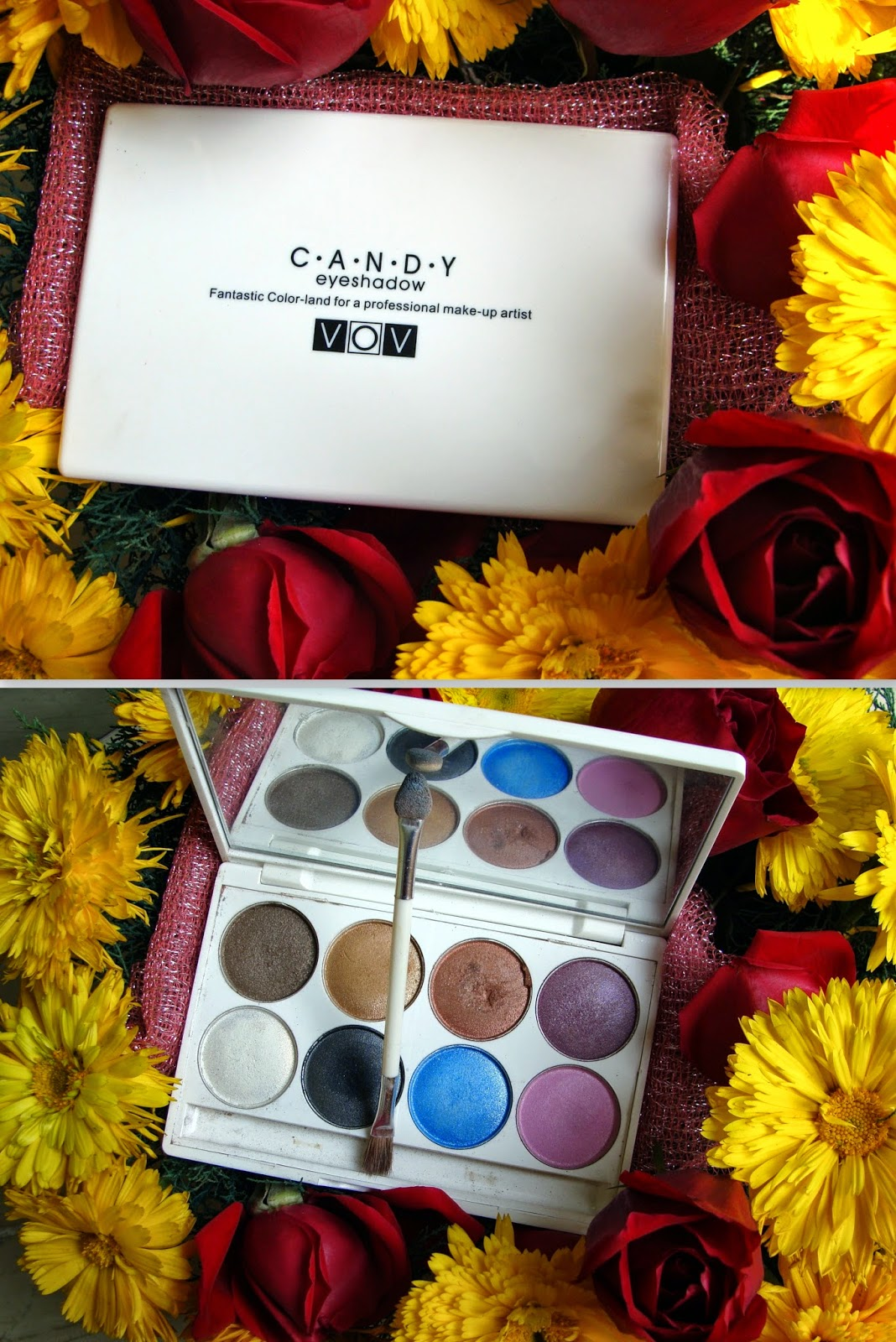 VOV Candy Eye Shadow Review and Swatches