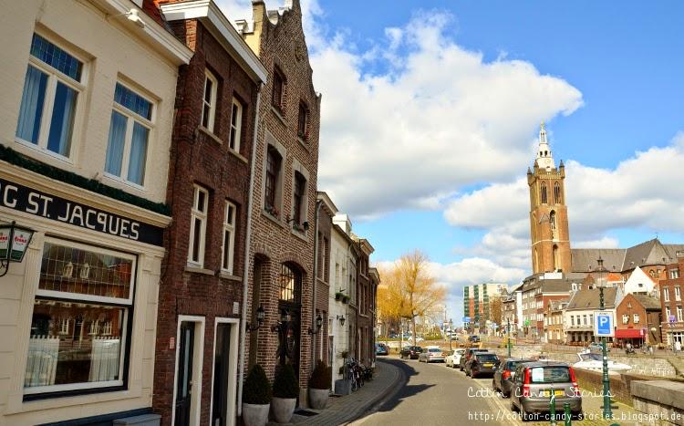 Blick von der Steinen Brücke in Roermond
