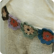 Cinturon a Crochet