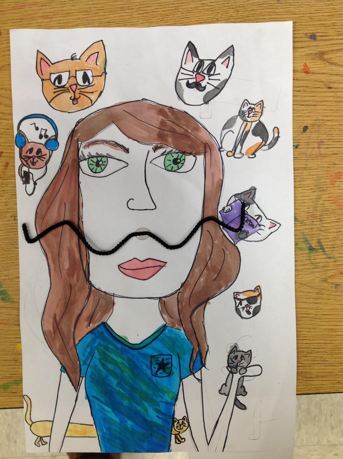 Miss Arty Pants Salvador Dali Portraits