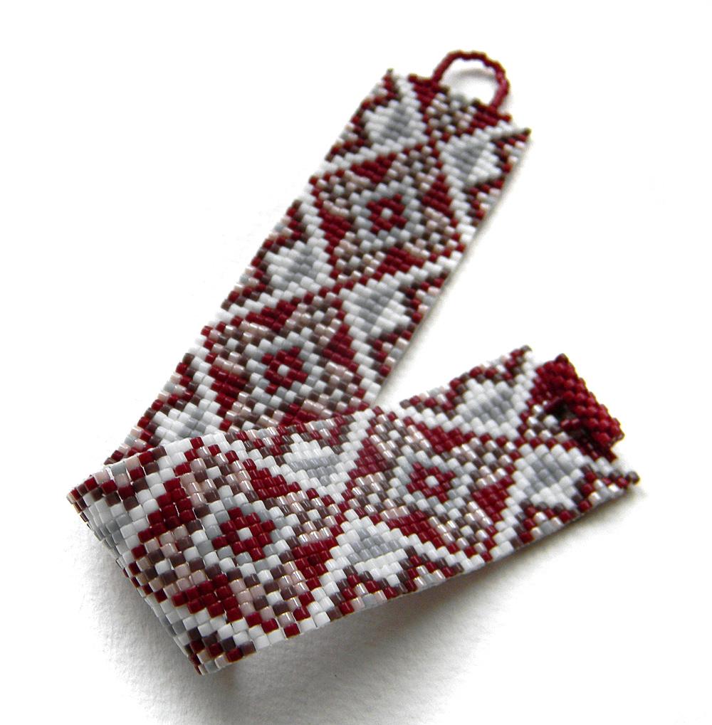Купить Браслет из бисера - украшения в этническом стиле