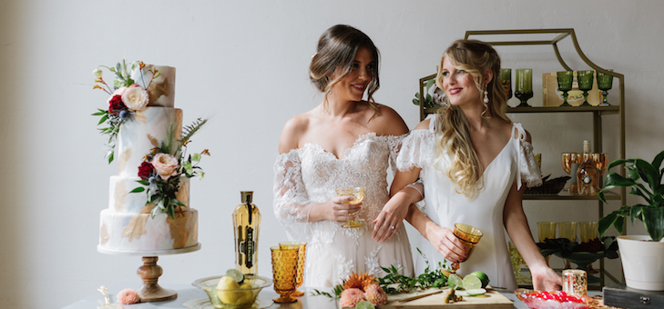 Reception Lounge Ideas with Allure Bridals x Wilderly Bride