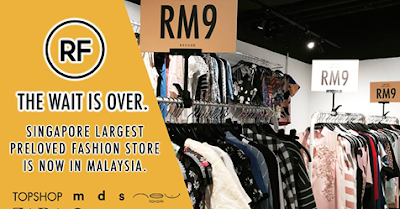 Refash Malaysia Secondhand Clothing Brand Discount