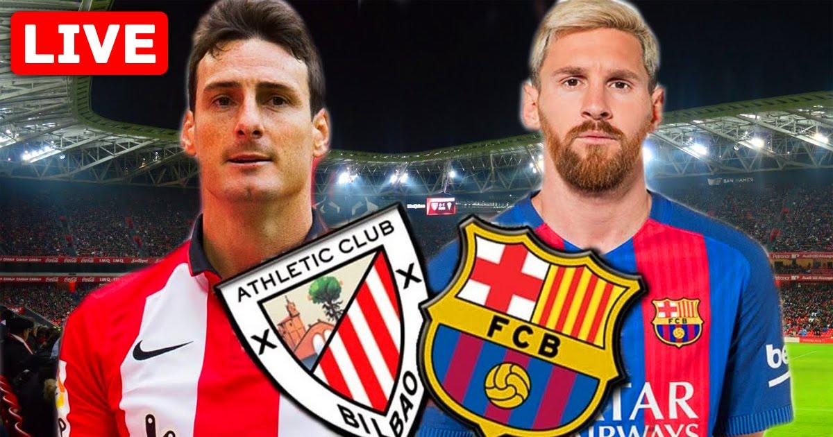 Athletic Club vs Barcelona Live Streaming