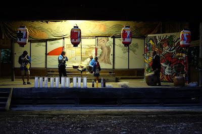 五社宮 舞台