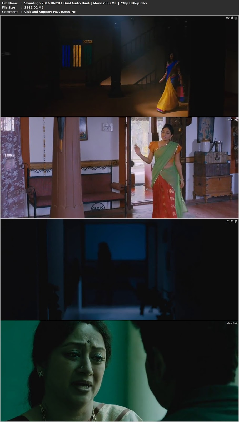 Shivalinga 2016 UNCUT Dual Audio Hindi HDRip 720p 1GB at movies500.site