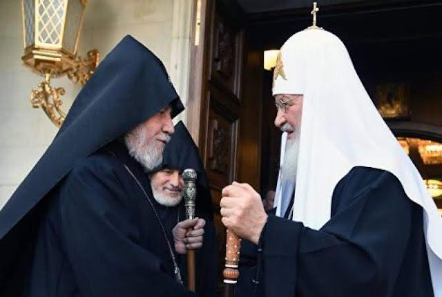 Karekin II pidió a Kirill que medie en la liberación de Ghazaryan