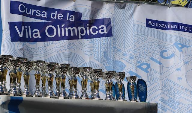 Carles Montllor y Francesca Sist logran la victoria en la Cursa Vila Olímpica 2017