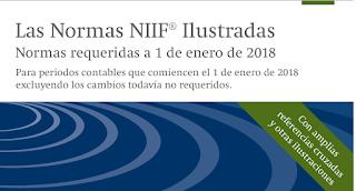 Normas Ilustradas NIIF 2018 Libro Azul Parte A, B, C
