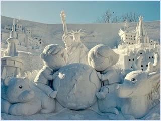 เทศกาลหิมะซัปโปโร (Sapporo Snow Festival)