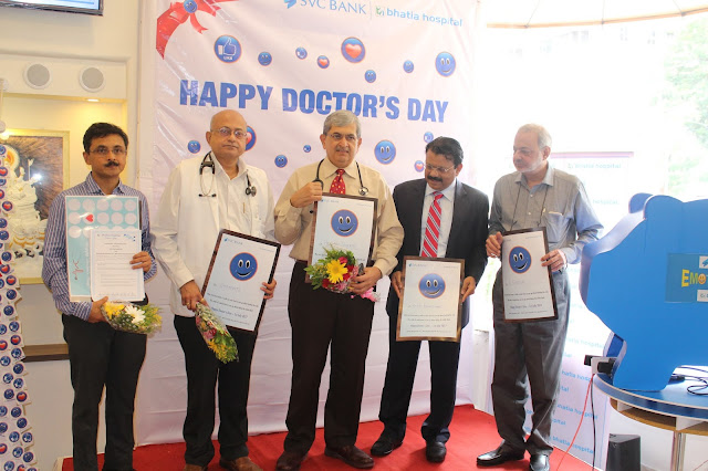 This Doctors' Day, patients honour doctors with special smileys