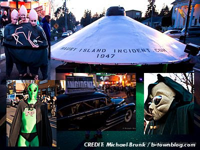Another UFO Carnival is Born: 'UFO Crash' Party in Olde Burien