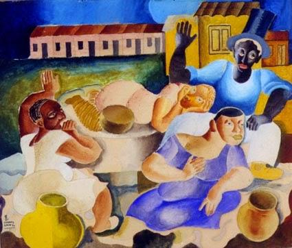 Feiticeiro - Di Cavalcante e suas principais pinturas ~ Pintando a realidade brasileira