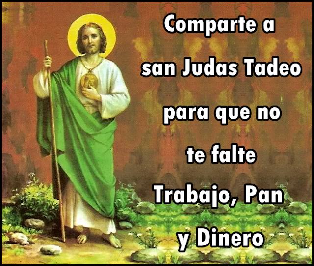SAN JUDAS TADEO - DINERO