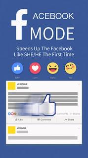UC Browser Facebook Mode