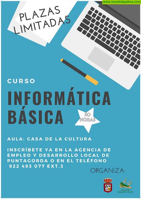 Curso de Informática Básica en Puntagorda