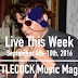 Live This Week: September 4th-10th, 2016
