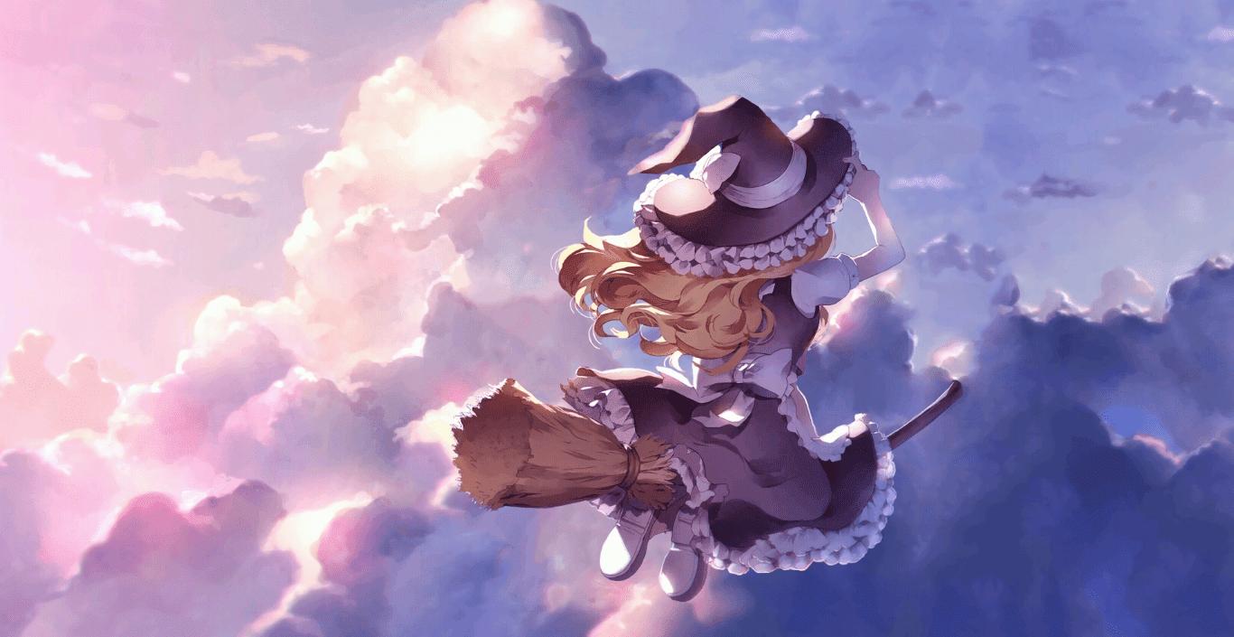 Marisa Kirisame [Touhou Project] [Wallpaper Engine Anime]
