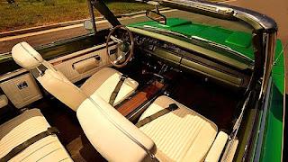 1969 Dodge Hemi Coronet RT Convertible Interior Seat