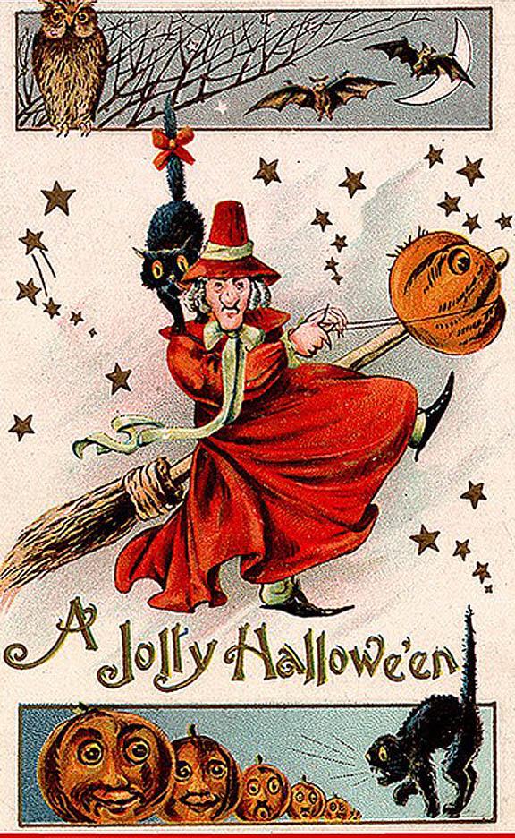halloween clip art free vintage - photo #45