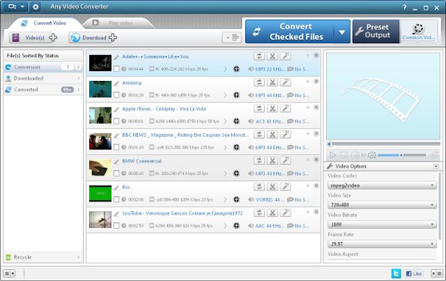 تحميل برنامج Any Video Converter أفضل برنامج لتحويل صيغة أي فيديو برابط مباشر