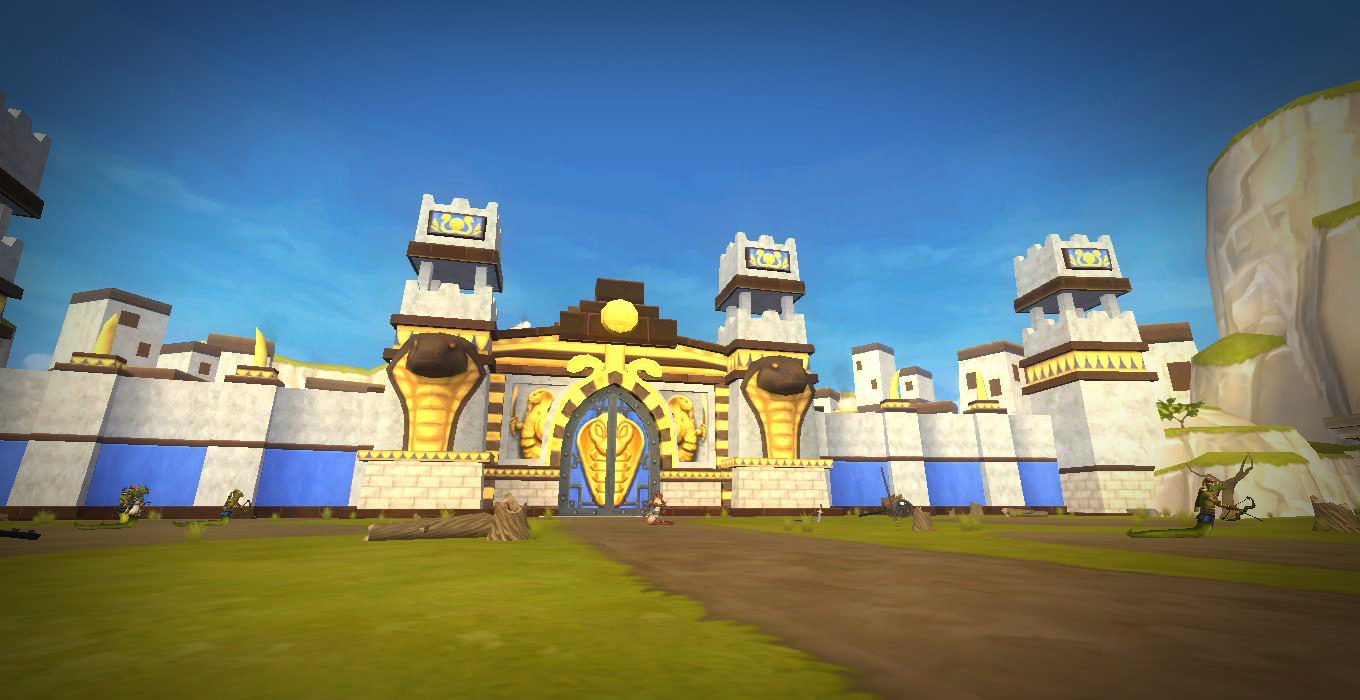 Pirate101 Aquila Snake Temple Screenshot