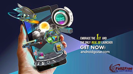 Android : Next Launcher 3D Shell v3.17 Build 141 Patched