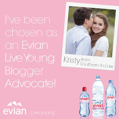 Evian Live Young Blogger Advocate