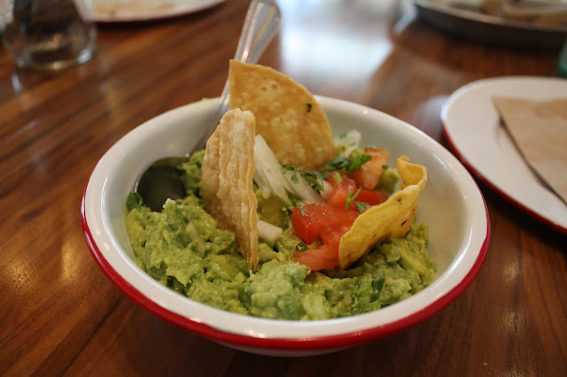 Fresh guacamole at Truco Taqueria
