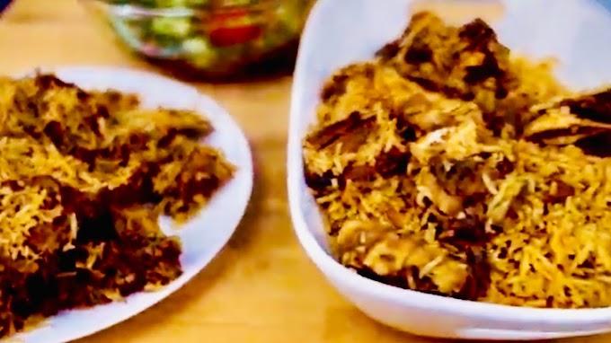 Cara Memasak Nasi Kabsyah Kambing Nasi Kebuli Arab Asli