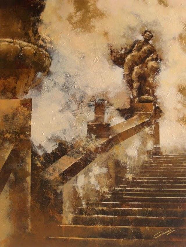 Испанский художник. Jose Vicente Cascales Mascarell