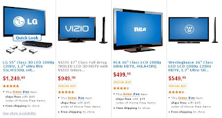 Black Friday 2011: Walmart's Free Shipping, HDTV, 3D, Apple iPod