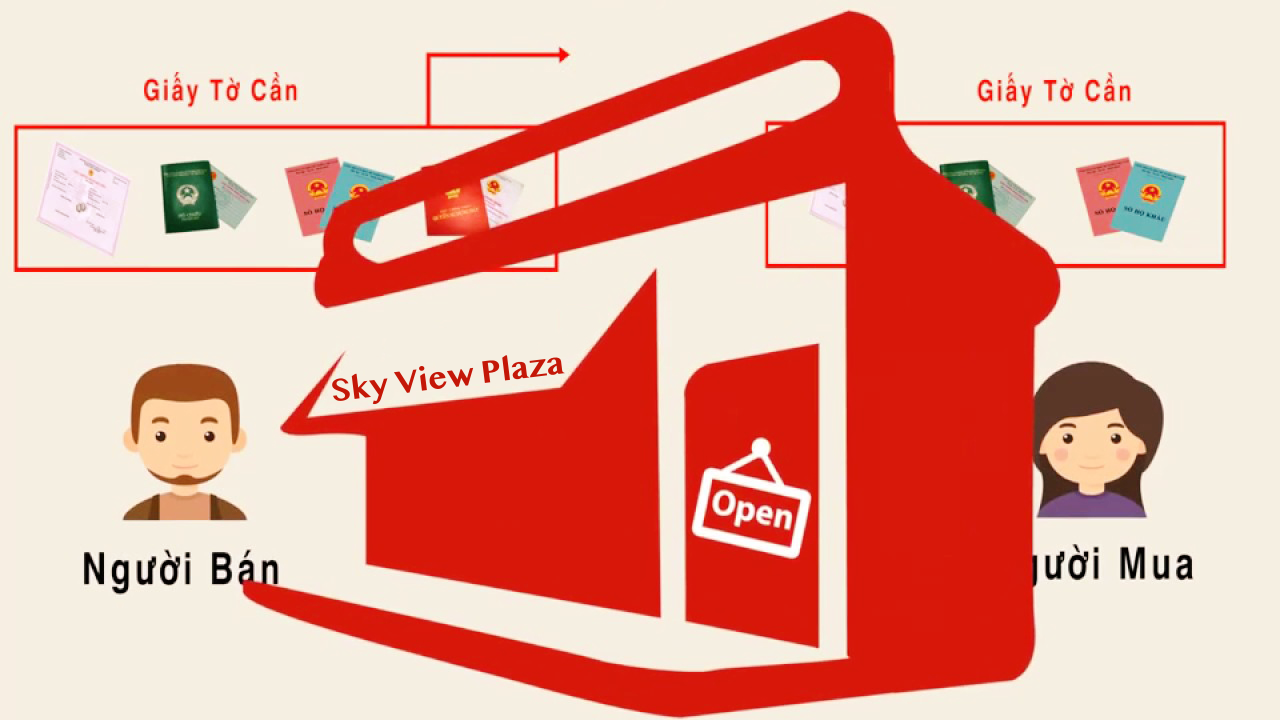 Quy trình mua bán căn hộ tại dự án Sky View Giải Phóng