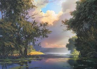 como-defines-el-panorama-natural-pintura-óleo pinturas-panorama-natural