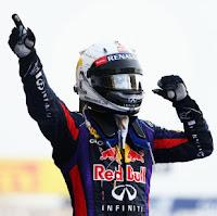 Sebastian Vettel Wins Bahrain GP 2013