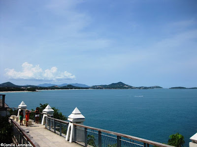 View over Chaweng bay