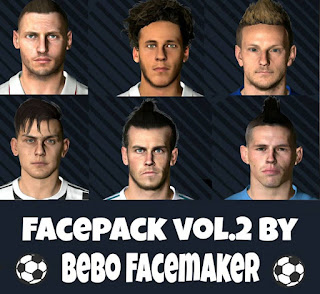 PES 2017 Facepack Vol.2 by Bebo Facemaker