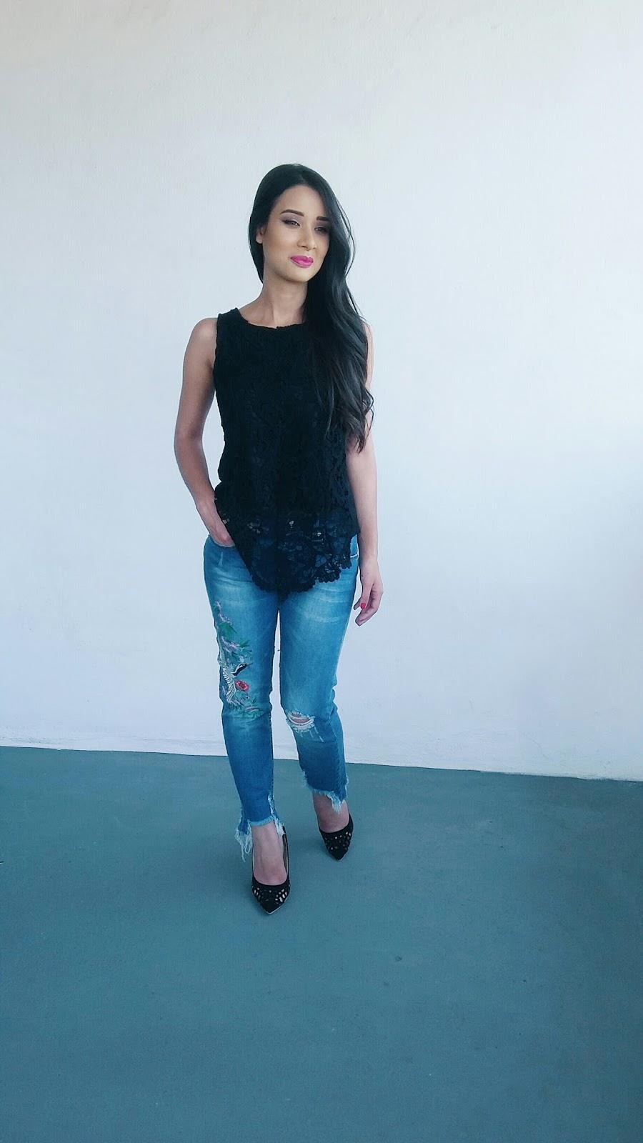 Look do Dia: Calça Jeans + Blusa