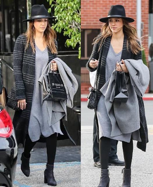 Jessica Alba wearing GRANA