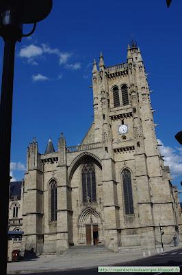 église saint Jean d'Ambert.