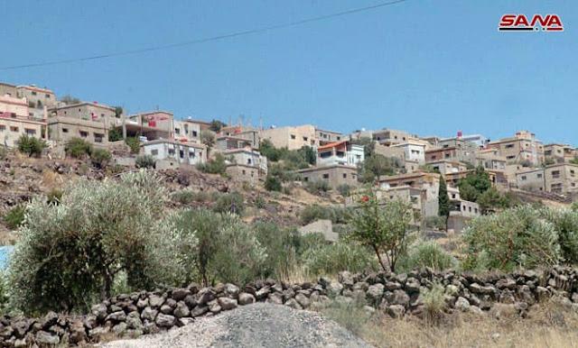 قرية نمرة شهبافي السويداءطبيعة سياحية تتميز بتلالها ومياهها العذبة (صور)
