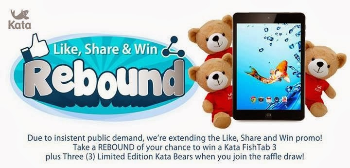 Kata Like, Share and Win Rebound Promo